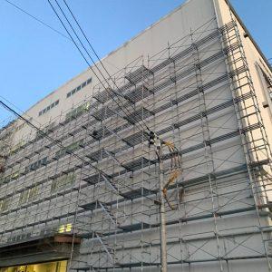 埼玉県 入間市 足場施工