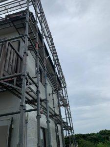 千葉県 富津市 足場施工