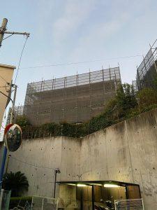 東京都 中野区 足場施工