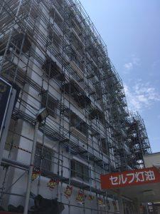 神奈川県 横須賀市 足場施工