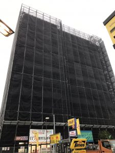 東京都 東大和市 足場施工