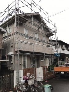 東京都 西東京市 足場施工