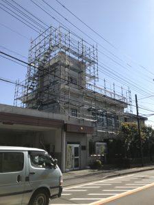 東京都 立川市 足場施工