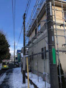 東京都 日野市 足場施工