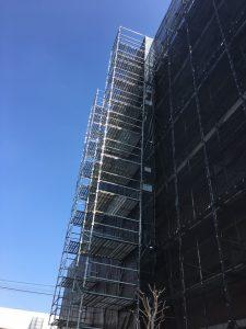 東京都 小金井市 足場施工