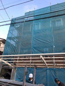 神奈川県 横浜市 戸塚区 足場施工