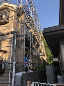 神奈川県 川崎市 足場施工