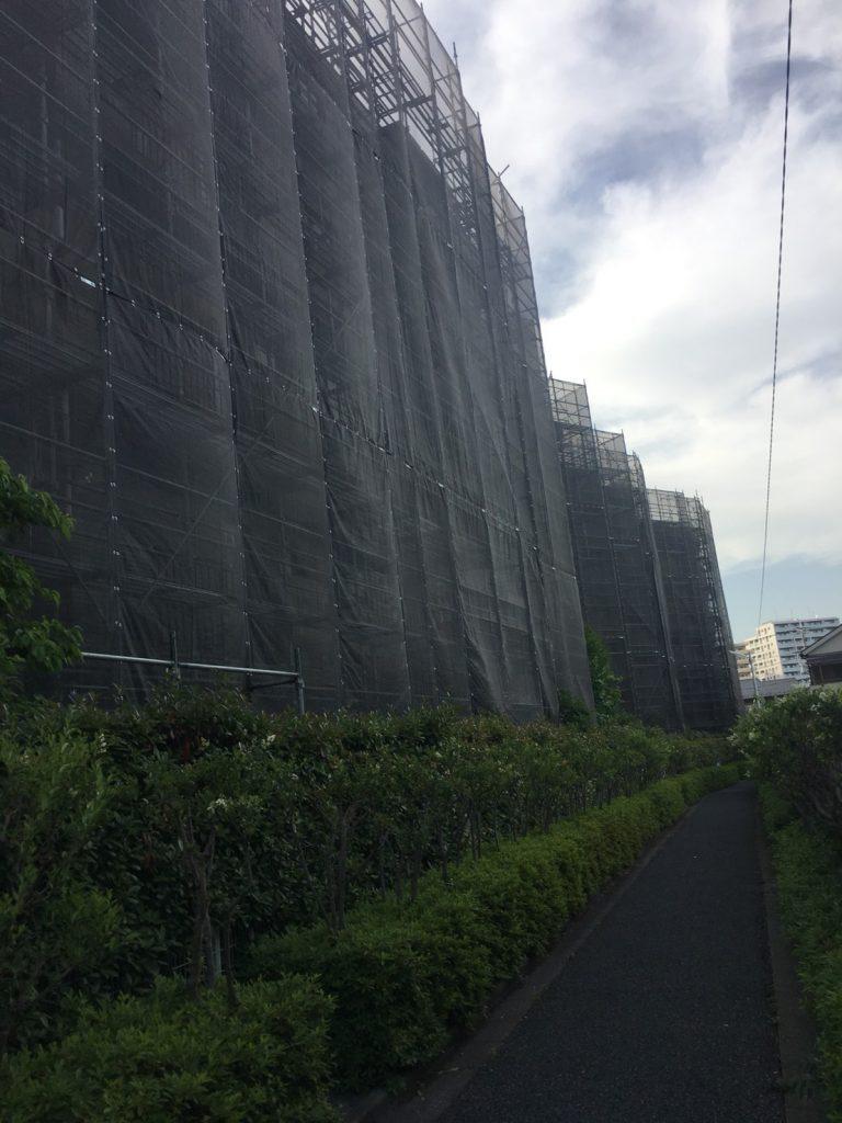 東京都 葛飾区 足場施工