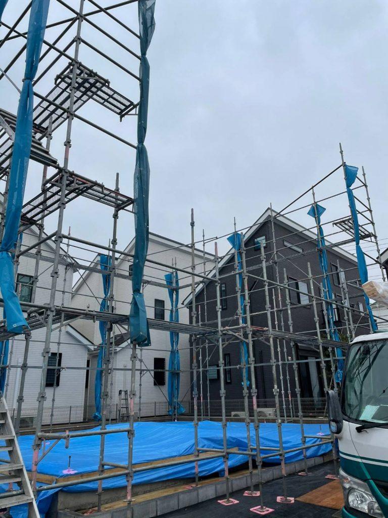 東京都 調布市 足場施工