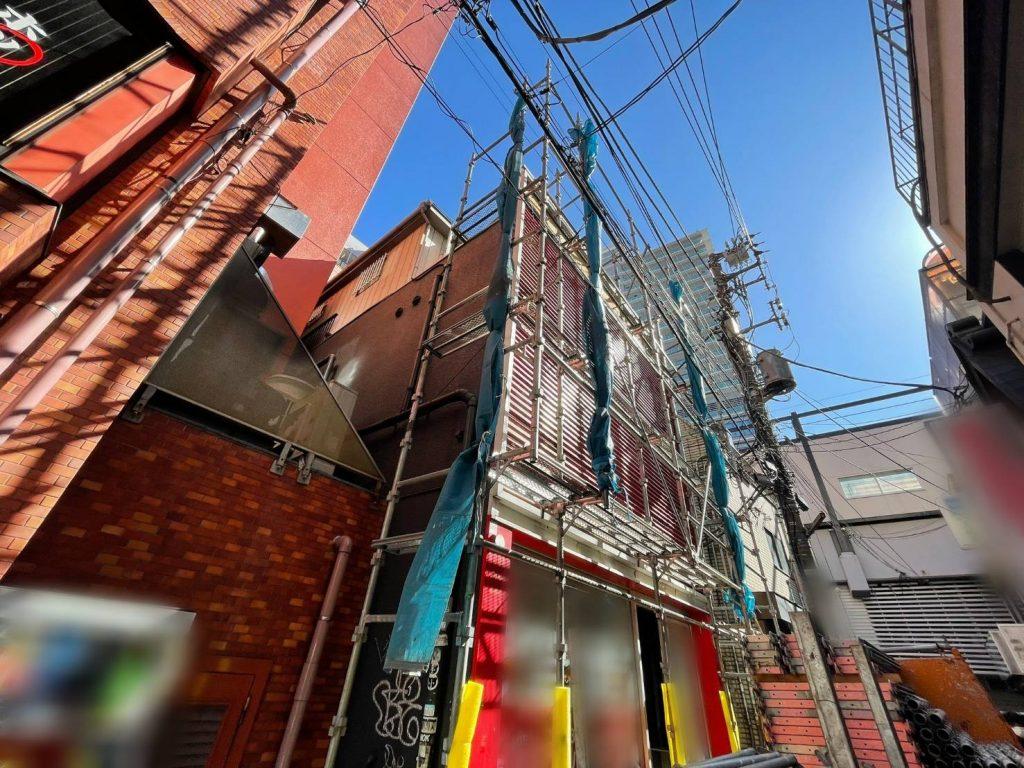 東京都 渋谷区 足場工事
