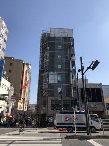 東京都 台東区 浅草 足場施工