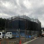 東京都 西多摩郡 日の出町 足場工事
