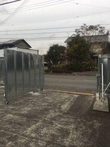 静岡県 焼津市 仮囲い