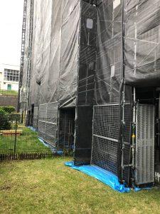 神奈川県 大和市 足場施工