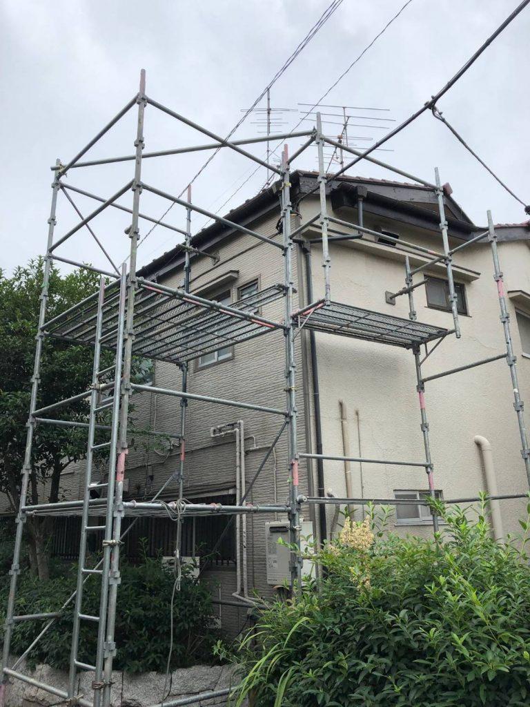 東京都 杉並区 足場施工