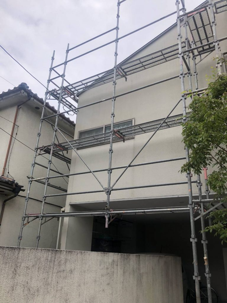東京都 青梅市 足場施工