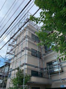 埼玉県 さいたま市 足場施工