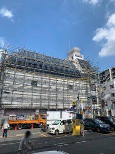 神奈川県 茅ヶ崎市 足場施工