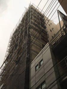 東京都 台東区 足場施工