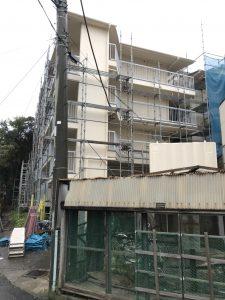 茨城県 取手市 足場施工