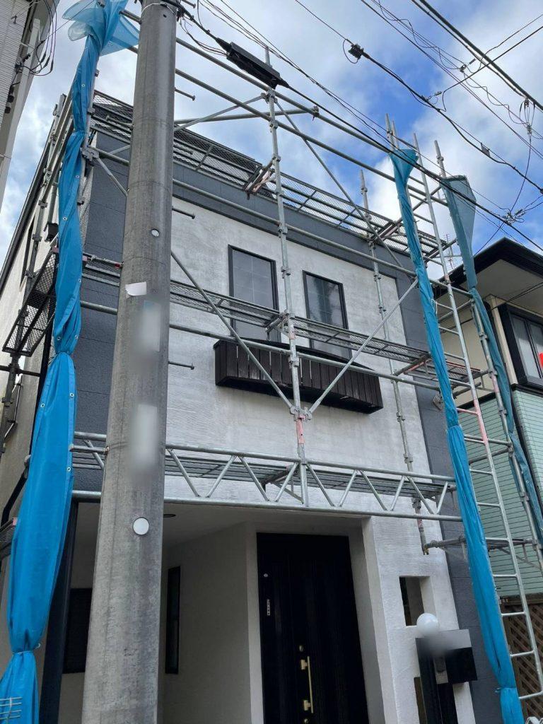 東京都 世田谷区 足場施工