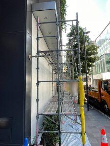 東京都 渋谷区 足場施工