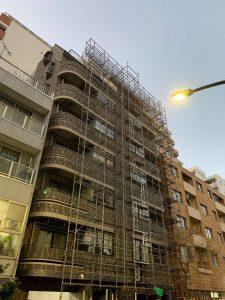 東京都 新宿区 足場施工