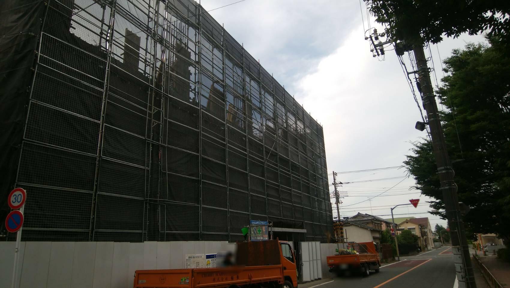 東京都 福生市 足場施工