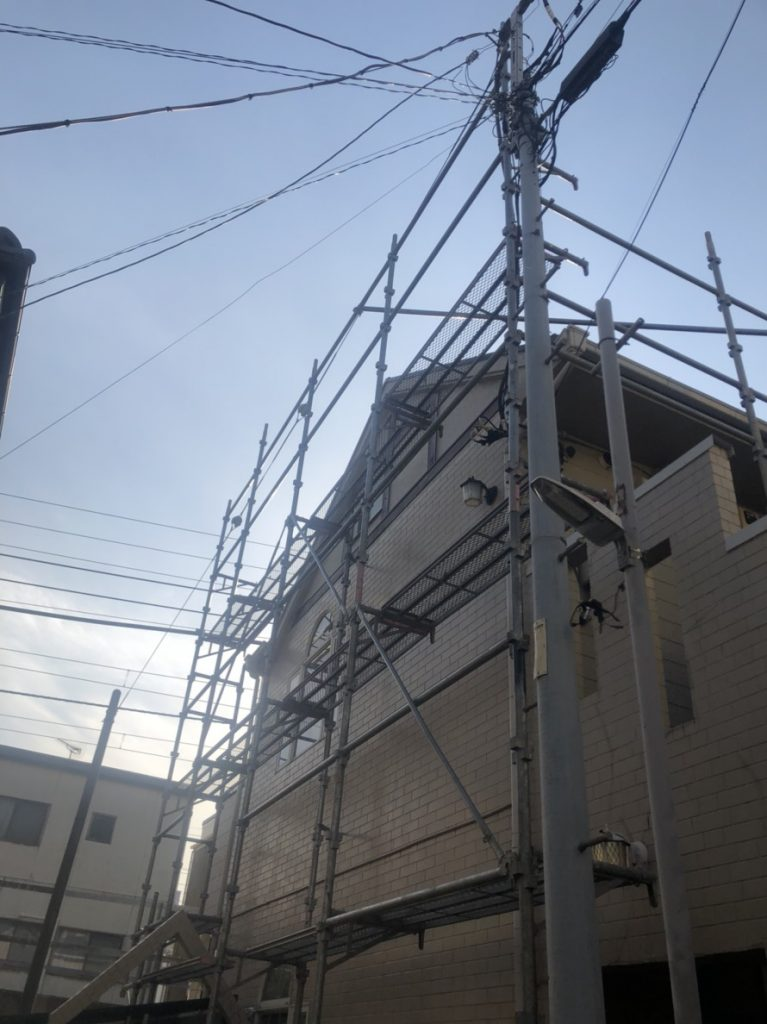 東京都 大田区 足場施工