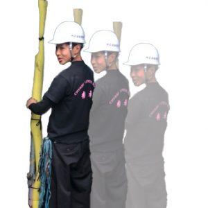 足場施工のスタッフ