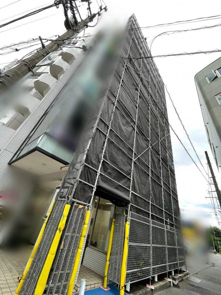 神奈川県 藤沢市 足場施工