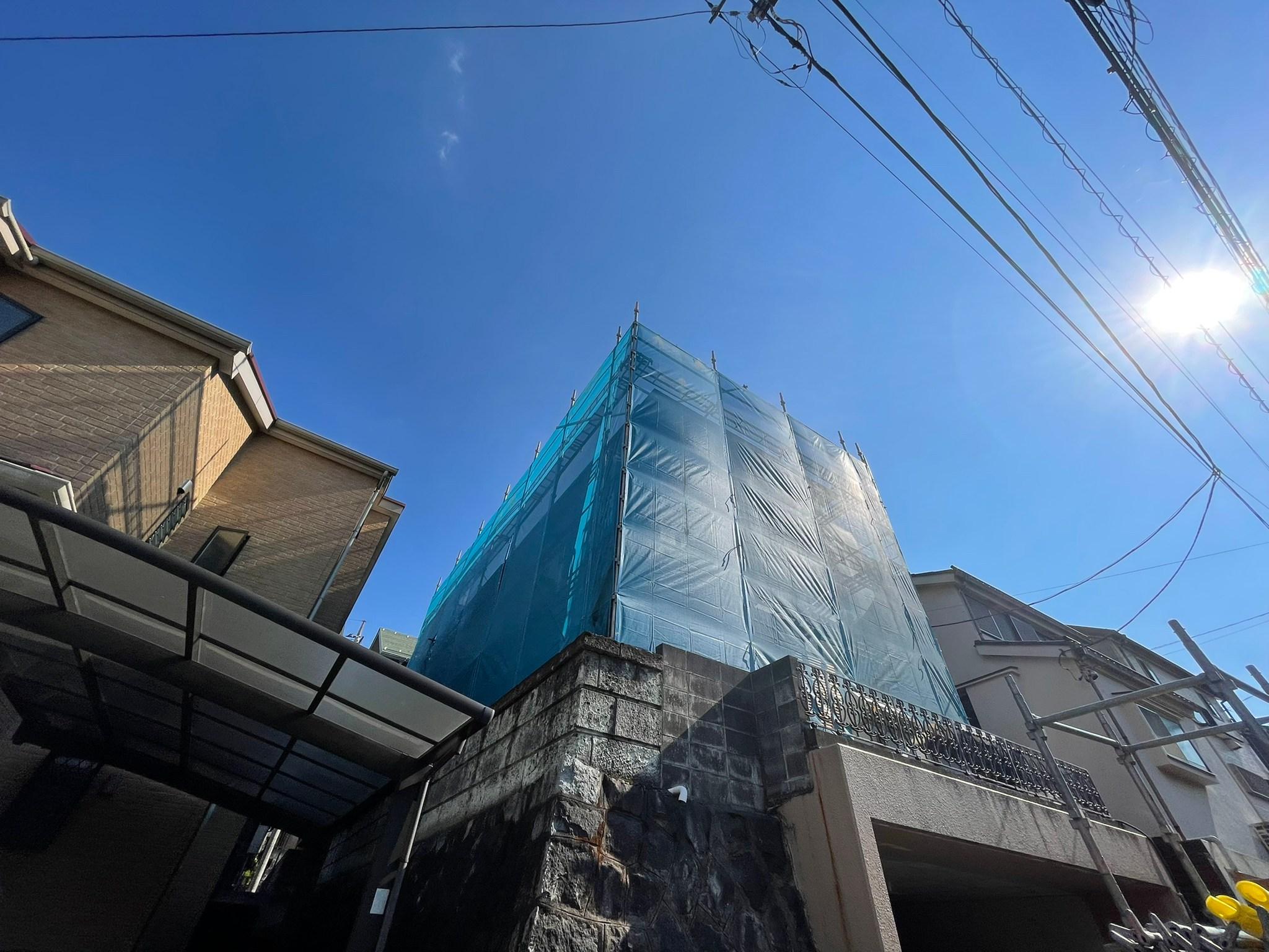 東京都 多摩市 足場施工